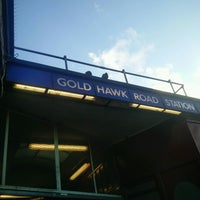 Photo taken at Goldhawk Road London Underground Station by Chinelo N. on 2/4/2017