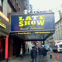 Photo taken at Ed Sullivan Theater by Stephanie V. on 1/3/2013