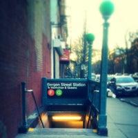 Photo taken at MTA Subway - Bergen St (F/G) by Darius A. on 3/24/2013