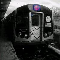 Photo taken at MTA Subway - Canarsie/Rockaway Pkwy (L) by Darius A. on 5/1/2013