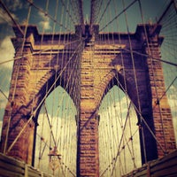 Photo prise au Pont de Brooklyn par Darius A. le7/16/2013