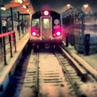 Photo taken at MTA Subway - Canarsie/Rockaway Pkwy (L) by Darius A. on 2/9/2013