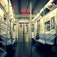 Photo taken at MTA Subway - Brooklyn Bridge/City Hall/Chambers St (4/5/6/J/Z) by Darius A. on 7/28/2013