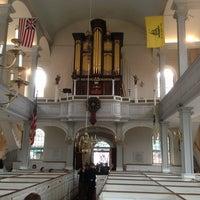 Das Foto wurde bei The Old North Church von John D. am 5/25/2013 aufgenommen