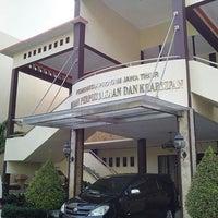 Photo taken at Badan Perpustakaan dan Kearsipan Provinsi Jawa Timur by Brahmanto A. on 10/2/2015