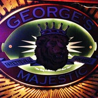 Photo taken at George's Majestic Lounge by Chris G. on 3/13/2013