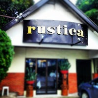 Photo taken at Rustica Restaurant by Bryan H. on 10/3/2012