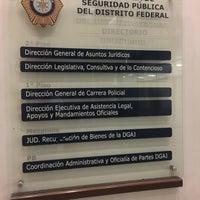 Photo taken at Direccion General Juridica de la SSP by Rodrigo D. on 6/3/2017