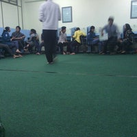 Photo taken at Ruang B-107 STIE PERBANAS by ahmad a. on 12/17/2012