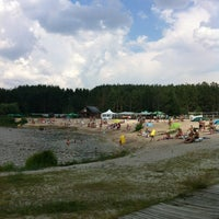 Photo taken at Корчагин Парк - Beach Club by Maksim B. on 7/7/2013