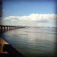Photo taken at Ponte Rio-Niterói by Isac B. on 7/11/2013