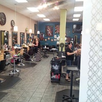 Photo taken at Split Endz Hair and Nails by Eric W. on 10/9/2012