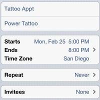 Power Tattoo