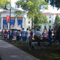 Photo taken at Gettysburg College - Pennsylvania Hall by Elizabeth L. on 7/4/2013