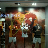 Photo taken at Galatasaray Store by Enes O. on 7/16/2013