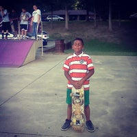 Photo taken at Radcliff Skate Park by Tommy B. on 6/23/2013