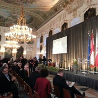 Photo taken at Hofburg Innsbruck by Thomas P. on 1/27/2013