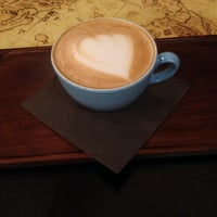 Photo taken at Coffee Map Roastery by Andreea Alexandra on 2/5/2014