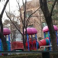 Photo taken at 충현1공원 by 재희Jay 홍. on 1/4/2014