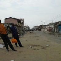 Photo taken at Abossey Okai by Kobby B. on 12/7/2012