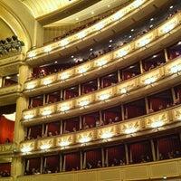 Photo taken at Vienna State Opera by Vee K. on 4/1/2013