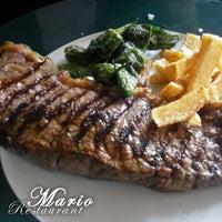 Photo taken at Restaurant Mario by Adri L. on 1/9/2013