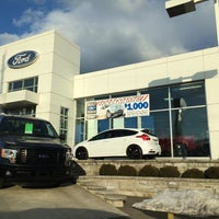 Photo taken at Eastgate Ford by Rick B. on 3/24/2014