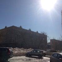 Photo taken at АПИ Воробьевы Горы by Александр Н. on 3/27/2013