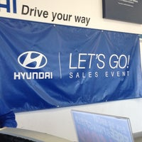 Photo taken at Country Hyundai by Christina P. on 4/5/2013
