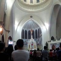 Photo taken at Nhà thờ Chánh toà Phú Cường by Nhim V. on 11/23/2014