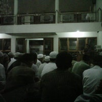 Photo taken at Masjid Abu Dzar Al Ghifari by Andy K. on 1/9/2013