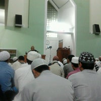 Photo taken at Masjid Abu Dzar Al Ghifari by Andy K. on 4/3/2013