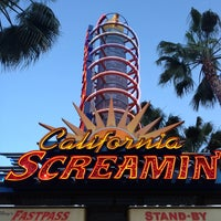 Photo taken at California Screamin' by Missy A. on 4/2/2013