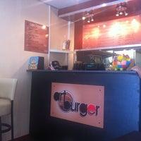 Photo taken at Art Burger by Sarah D. on 8/3/2013