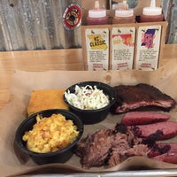Photo taken at Mission BBQ by German A. on 12/18/2015