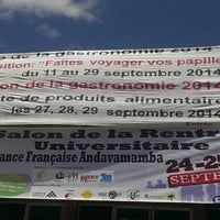 Photo taken at Alliance Française d'Antananarivo by Robbin R. on 9/27/2014