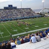 Photo taken at Delaware Stadium by Rachel I. on 10/6/2012