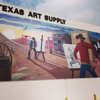 Photo taken at Texas Art Supply by Dtm F. on 4/12/2015