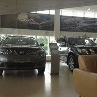 Photo taken at Nissan by Tatiana V. on 7/24/2013
