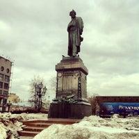 Снимок сделан в Пушкинская площадь пользователем Cansu 4/8/2013