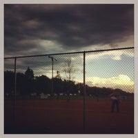 Photo taken at Wrightstown Baseball Diamonds by Gary M. on 6/27/2013