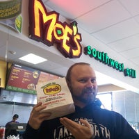 Photo taken at Moe's Southwest Grill by Alexa C. on 1/20/2015