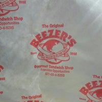 Photo taken at Beezer's Gourmet Sandwich Shop by Paul C. on 10/7/2013