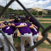 Photo taken at West Hills Baseball by David K. on 5/16/2015
