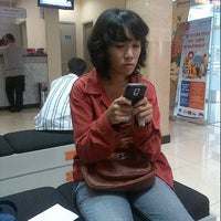 Photo taken at Bank BRI Panglima Polim by Emeralda A. on 1/23/2013