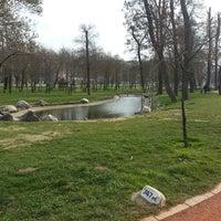 Photo taken at Hasbahçe Parkı by Muhammet P. on 3/3/2013