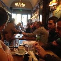 Photo taken at Toulouse Café-Brasserie by Metin A. on 11/7/2012