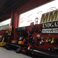 Photo taken at Endgame Combat Sports Academy by Eddy R. on 10/26/2012