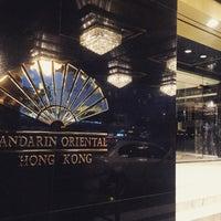 Photo taken at Mandarin Oriental, Hong Kong 香港文華東方酒店 by Carol L. on 5/9/2016