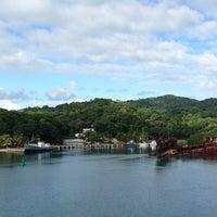 Photo taken at Roatan, Honduras by Jennifer B. on 1/6/2014